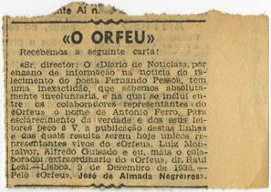 «O Orfeu»