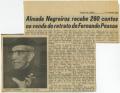 Almada Negreiros recebe 260 contos na venda do retrato de Fernando Pessoa